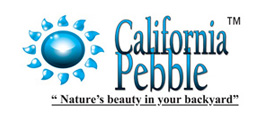 California Pebble Finishing Logo