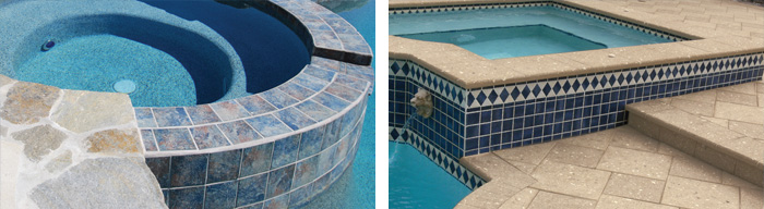 Swimming Pool Coping and Tile