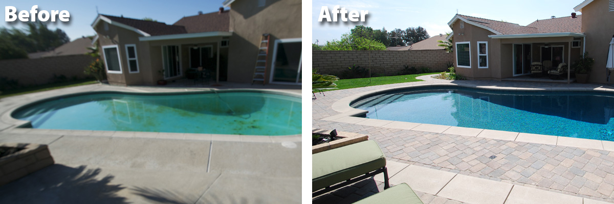 Remodeling Pools Before And After : Swimming pool remodeling care