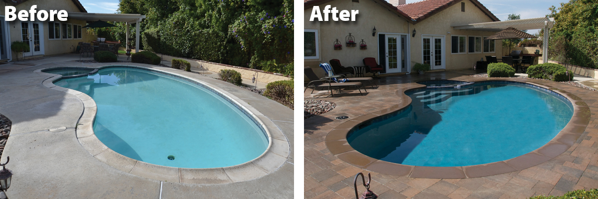 28 best how much to renovate a pool how to replaster for Pool redesign